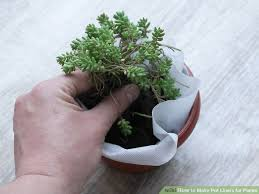 how to make pot liners for plants 7 steps with pictures