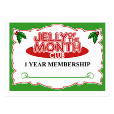 gift of the month club jelly of the month club gifts on zazzle