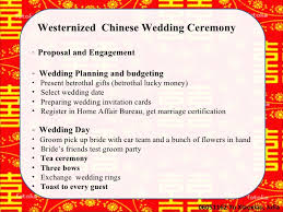 how to register for money for wedding wedding ceremony in modern europe and china