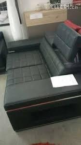 canapé neuf canapé en cuir avec fonction lit comme neuf in vaud acheter tutti ch