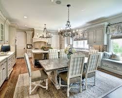 large kitchen dining room ideas best 25 kitchen dining combo ideas on island table