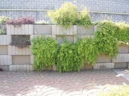 hollow concrete block for retaining walls for garden