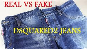 REAL VS FAKE DSQUARED2 JEANS LEGIT CHECK