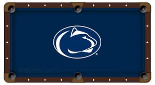 poker table felt fabric college logo felt pool table cloth tables shop penn state idolza
