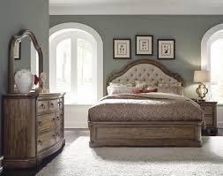 bedroom furniture velvet tufted bed high back upholstered bed