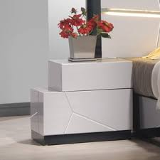 lacquer nightstand wayfair
