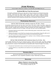 Relevant Experience Resume Sample by Accountant Resume Sample My Perfect Resume Private Equity
