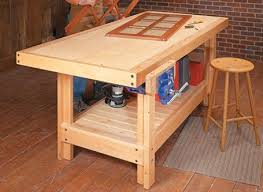 Easy Wood Workbench Plans by 172 Best Shop Benches U0026 Carts Images On Pinterest Workbenches