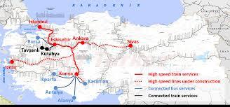 Usa Rail Network Map by Rail Turkey Travel U2013 Discover Turkey By Train