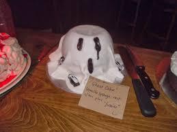 Halloween Ghost Cake by Cakeyboi Clandestine Cake Club Halloween