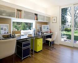 nice astonishing luurious home office design ideas with two within