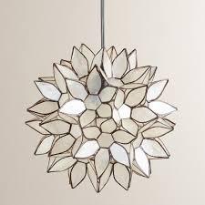 world market pendant light small capiz lotus hanging pendant lantern world market for the