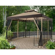 gazebo covers garden winds replacement canopy top for the winslow arrow gazebo