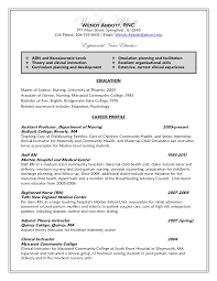 Sample Resume Undergraduate by Resume After
