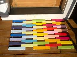rainbow door mats blueberry hill crafting