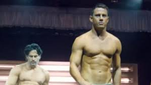magic mike xxl official trailer channing tatum shows off rock hard abs in magic mike xxl trailer
