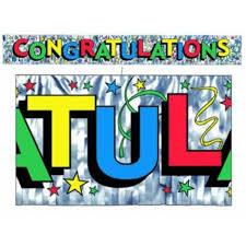 congratulations graduation banner graduation party supplies at amols party supplies