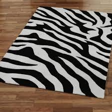 Zebra Area Rug Wondrous Zebra Area Rug 8x10 Entracing Print 8 215 10 Home Rugs