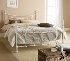White Frame Bed Rustic Metal Bed Frames Best 20 White Metal Bed Ideas On Pinterest