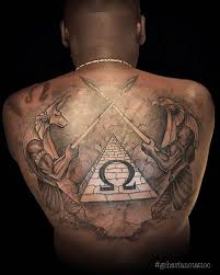 egyptian tattoo on back best tattoo ideas gallery