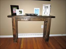 Pine Console Table Interiors Marvelous Small Console Table With Shelf Rustic Pine