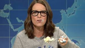 no tina fey white people must put down the sheet cake and start