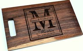 personalize cutting board cutting board personalized cutting board laser engraved 8x14