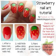 strawberry nail art pictures photos and images for facebook