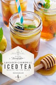 lavender tea lavender chamomile tea made with eastern shore honey