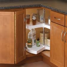 kitchen cabinets lazy susan knape vogt 32 in h x 24 in w x 24 in d 2 shelf kidney shaped