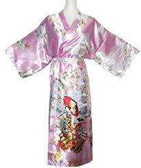robe de chambre japonaise homme kimono japonais robe de chambre satin femme amazon fr