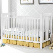 Toddler Bedding For Convertible Cribs by Delta Children Bennington Classic 3 In 1 Convertible Crib White