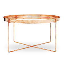 coffee tables splendid copper coffee table tray tres bon side