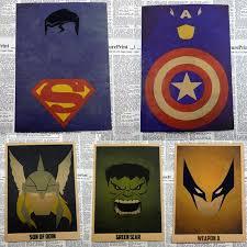 aliexpress com buy vintage cartoon superhero ironman the