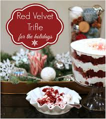 red velvet trifle a recipe for the holidays artsy rule