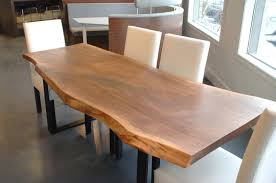 live edge walnut dining table live edge walnut dining table with