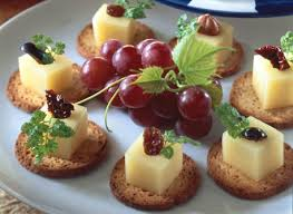 canape recipes canapés with gouda cheese recipe dairy goodness