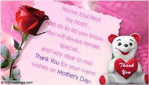 free thank you ecards mothers day special greetings you will always remain special free