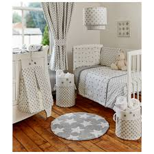 Asda Nursery Furniture Sets George Home Grey Bumper Set Baby Bedding Asda