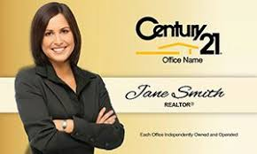 Century 21 Business Cards Simple Overlay Century 21 Business Card Template Century 21