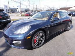 porsche panamera blue 2012 dark blue metallic porsche panamera turbo 61344188 photo 2