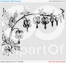 clipart of a retro vintage black and white border of bleeding