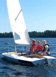 minnesota sailing learn to sail at pehrson lodge