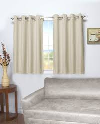 Black Window Valance 45 Inch Long Curtains Thecurtainshop Com