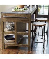kitchen island and stools bluestone kitchen island crate and barrel living room