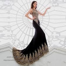 prom dresses black and gold lace naf dresses