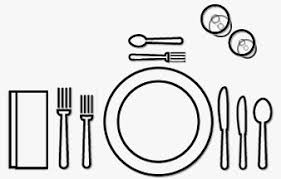 Formal Setting Of A Table Table Setting Guide Silverware