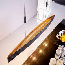 Esszimmer Lampe Gold Esszimmer Led Pendelleuchte Lio Mit Silberfolie Lampenwelt At