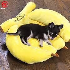 canap pour petit chien pas cher mignon banane pet chiot lit canapé pas cher chien lit maison pour