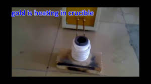 Homemade Gold Trommel Design by Portable Gold Melting Furnace Operation Instruction Video Youtube